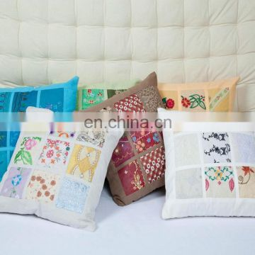 Wholesale Latest Handmade Design Pillow Cover Custom Printed Cotton Cushion Cover