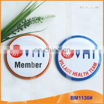 Popular Promotional gGifts Color Printing Button Badge/Custom BM1130