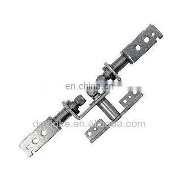 High density metal compress stamped LCD / LED monitor flip hinge