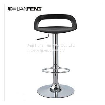 Awesome High Swivel Pp Plastic Bar Chair With Footrest Bar Furniture Inzonedesignstudio Interior Chair Design Inzonedesignstudiocom