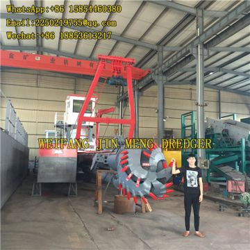 150 - 300kw Cutter Suction Dredger Reclamation Construction River Sand Dredging Machine