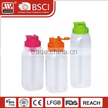 Wholesale custom BPA free plastic Shaker Bottles for cocktail drink with dense design