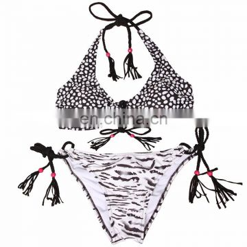 2017 Hot Sexy Cross Brazilian Bikinis Women Swimwear Beach Bathing Suit Push Up Bikini Set Halter Top Swimsuits