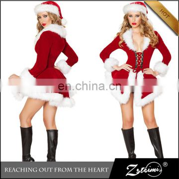 christmas costuem,sexy costume,sants claus costume