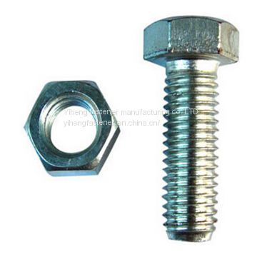 Outer hexagonal bolt,Hex bolt、Galvanized bolt