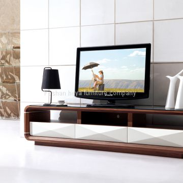 New Design Woodenglass Tv Stand Of Tv Stand From China Suppliers
