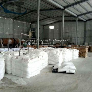 High white and conversion china lianyungang cristobalite flour colored glaze casting powder material