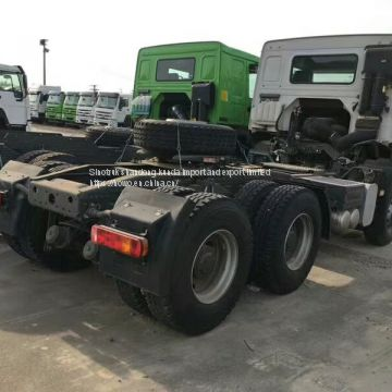 Right hand driving 6x4 Sinotruk howo tractor truk for sale 420HP