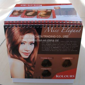 Hair color Book leading manufacture