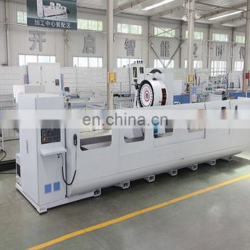 aluminum profile processing machine center with heavy duty spindle