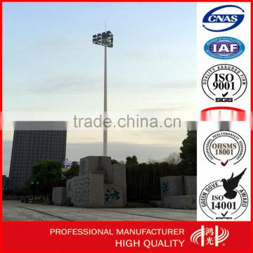 10-25 Meter High Mast Including All Lamps , Flood Lighting Pole for Residential Area Lighting