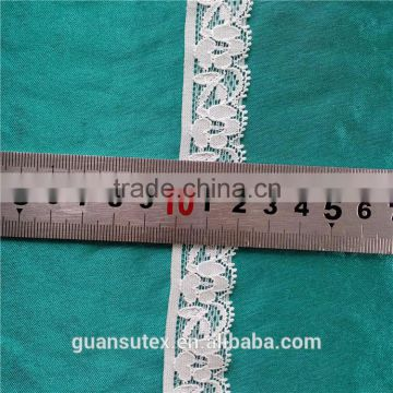 Fashion Offwhite Eyelash Lace China Factory Direct Sales Trimming Lace