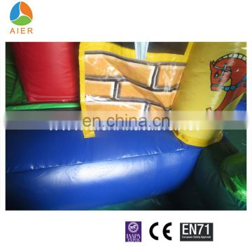 Huge happy Inflatable kids amusement floating water park cityfunland direct sale