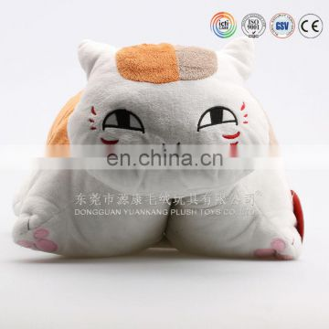 lovely soft plush cow,cat,pig,animal shaped cushion pillow toy