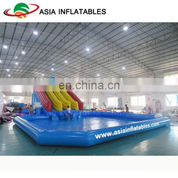 Giant Inflatable Water Park / Dolphin Amusement Park Equipment