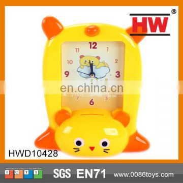 Cartoon Collection Time Wall Plastic Clock