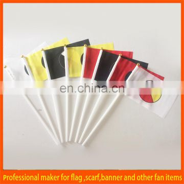 cheap hand flag waving flag for sports or events
