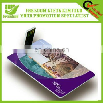 Custom Credit Card USB Flash Drive