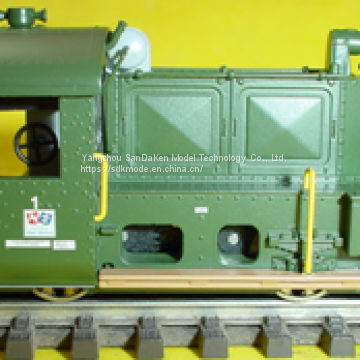 Independent State of Papua New Guinea Train model