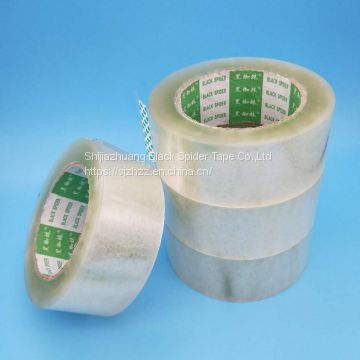 Strong viscosity clear bopp adhesive tape for carton sealing