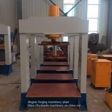 Solid forklift tyre pressing hydraulic press 120ton