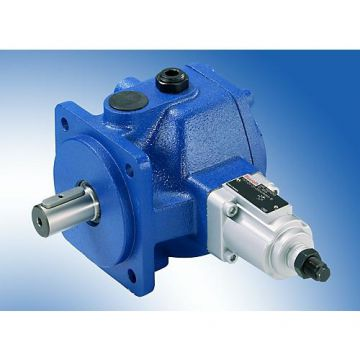 R900580384 Rexroth Pv7 Hydraulic Vane Pump Thru-drive Rear Cover Construction Machinery
