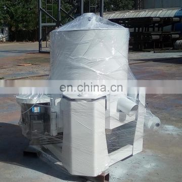 High recovery gold concentration water jacket centrifuge