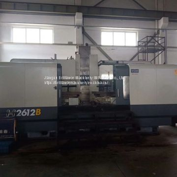 Taiwan YCM H2612B Twin Pallets Horizontal Machining Center