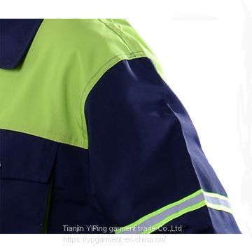 Custom breathable cheap overall work suit work clothes