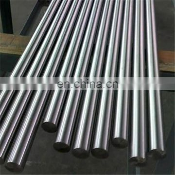 polished black stainless Steel round bar 316l 304
