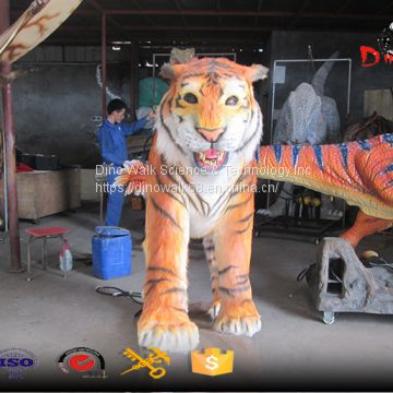 Animatronic animal indoor simulation model with sound