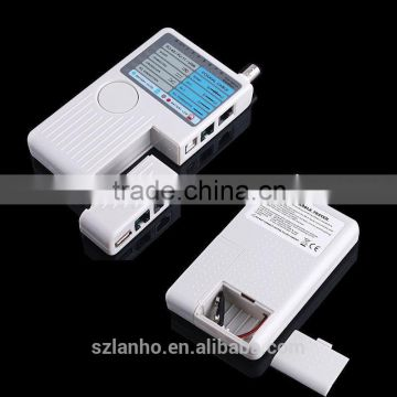 2016 new arrival 4-in-1 Remote RJ11 RJ45 USB BNC Phone LAN Network Computer Cables Tester Meter