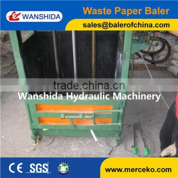 Y82-25 Baling machine for waste paper Press head move & lock by manual