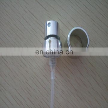 15/400 perfume crimp pump sprayer with good silver collar