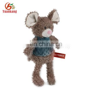 High quality lovely plush mouse stuffed toy