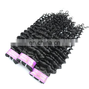 Over night shipping Peruvian human virgin 9A grade hair weaving in kinky curly wholesale price