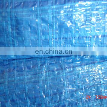 lower price 60gsm Blue tarpaulin roll