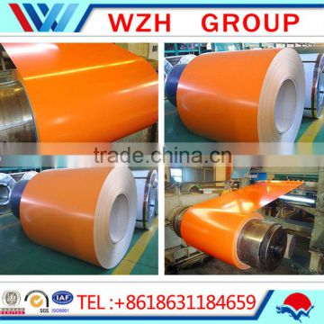 prepainted / PPGI galvanized Steel roofing sheet coil / corrugated galvanized zinc roof sheets