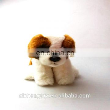 2018 dog mascot simulation dog plush staff toy