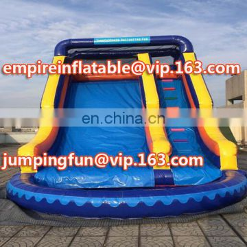 Inflatable slides for commercial use cheap inflatable stair slide toys ID-SLM084
