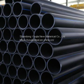 China 50mm 63mm 90mm 110mm 250mm 315mm sdr 17 PE pipe for water supply