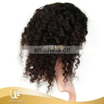 Factory price short curly sewed wigs for black women