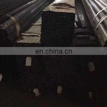 Chinese manufacturer black annealed ERW carbon square pipe/tube for furniture