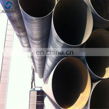 high quality Non alloy Q345 larger diameter spiral welded steel pipe manufacturer