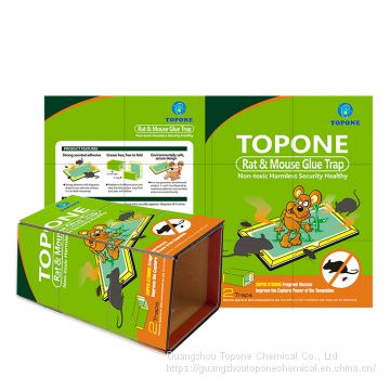 TOPONE OEM Cheap Rat & Mouse Glue Trap High Viscosity High Quality Efficient to Seduce