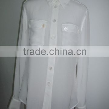 silk shirt/silk blouse/silk ladies' wear