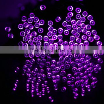 in stock solar led string lights 5mm concave bulbs waterproof theaters clubs hallwasy decorative lightings
