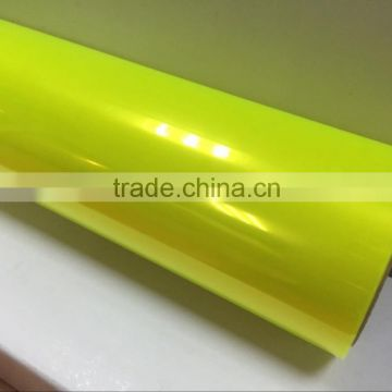 Wholesale TXD Fluorescent yellow car light film with size: 0.3*10m/0.4*10m/roll