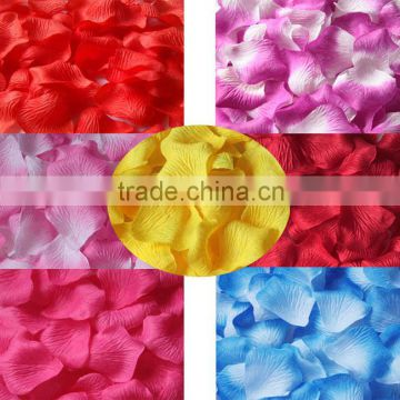 2016 Artificial silk rose petal for wedding decoration