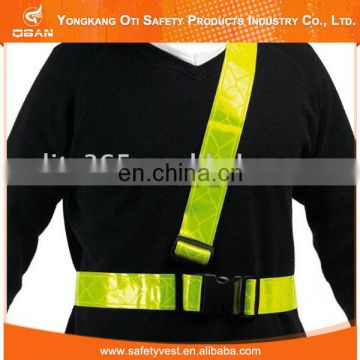 Hot selling good quality cheap reflective safety belt